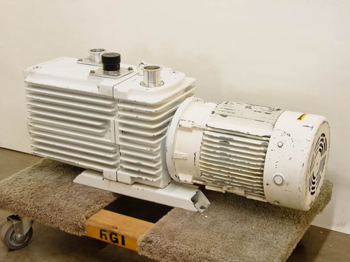 Leybold-Heraeus  D60AC  Trivac Vacuum Pump 208 Vac 3ph