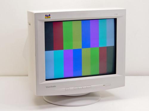 "ViewSonic  VCDTS22355-5M  17"" E70f Color Monitor"