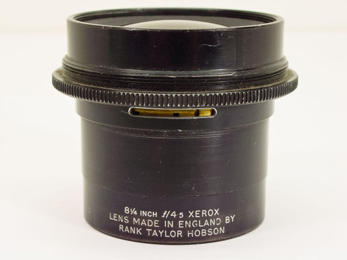 "Rank Taylor Hobson  8 1/4"" / F4.5   Xerox Lens"