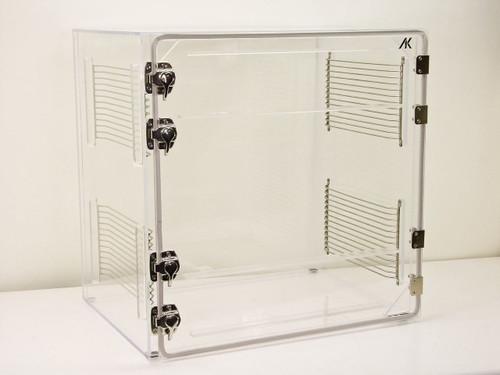 AK 24 x 18 x 24  Single Door Clear Plexiglass Dry Box