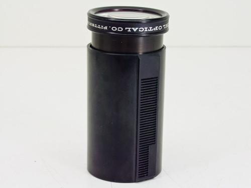 "Buhl Optical  1.4"" Superwide   Carousel Lens- crack in Plastic"