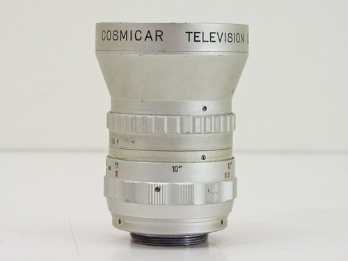 Cosmicar  12.5mm 1 1.4  Televison C-Mount Lens