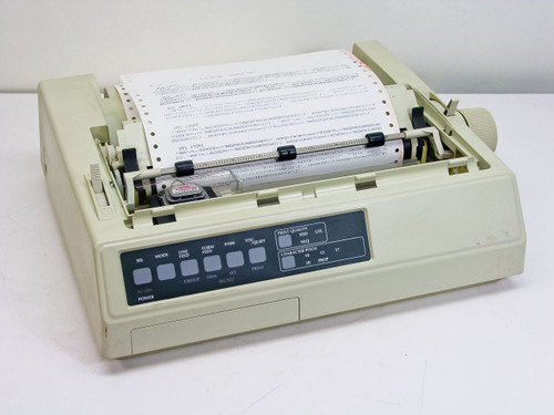 Okidata GE5253A  ML 320 Microline Dot Matrix Printer - Parallel Por