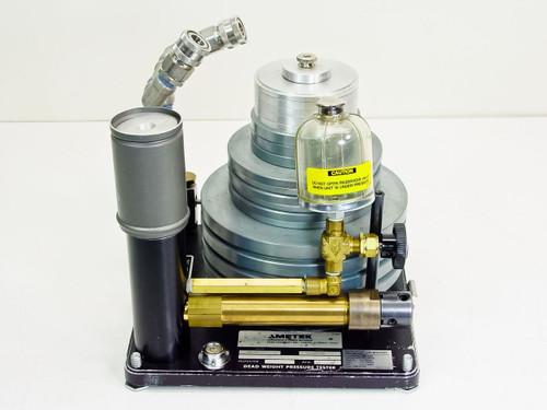 Ametek HL-6  Dead Weight Pressure Tester