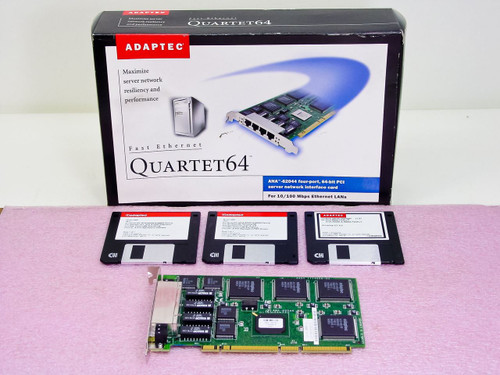 Adaptec ANA-62044  64-Bit PCI server network interface card