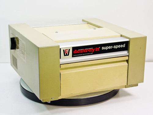 Electric WasteBasket Corp 9660 Destroyit  Super Speed Paper Shredder - Strip Cut