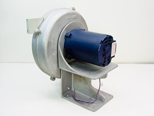 Leeson 100378  Electric Motor 3/4 HP & Fan Blower 208-230 460 V