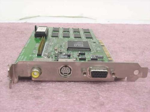 ATI PCI Video Card Mach64 3D Rage II GT 2 MB (109-38500-00)
