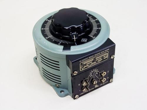 Powerstat 126  Variable Autotransformer 120 VAC 12.5 Amp