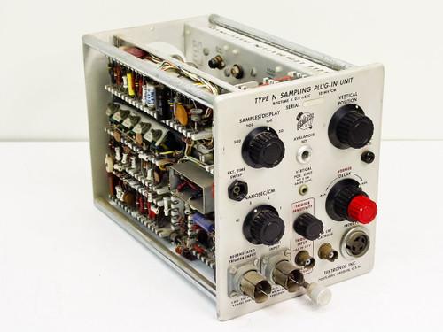 Tektronix  Type N   Sampling Plug-in unit