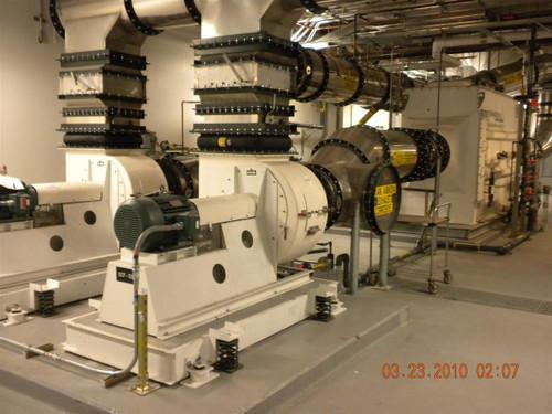 Ceilcote HRP-45-84  9000 ACFM Horizontal Ammonia Scrubber Chemical Vap