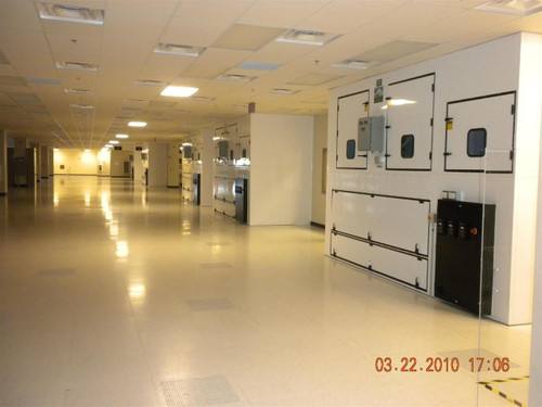 Cleanroom Class 10000  Lab Packaged with Huntair Room Level RAH