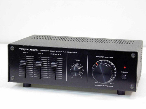 Realistic 32-2027  MPA-35A 35 Watt Solid State P.A. Amplifier