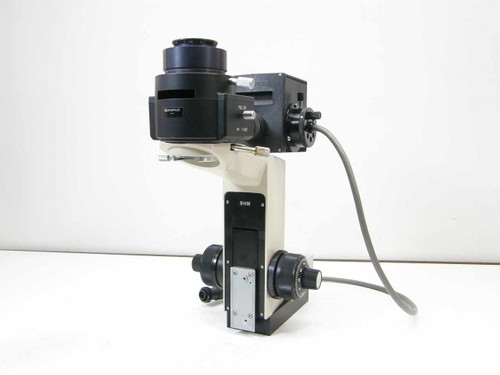 Olympus BHM  Metallurgical Microscope Body w/50watt Lamp housi