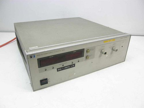 Agilent HP 6010A  DC Power Supply, 200V/17A - As Is for Repair