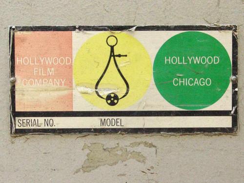 Hollywood Film Company 3 Column  Movie Storage Rack Shelf
