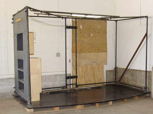 Trade Show 142x74x90  Display Booth with Hardwood Floor