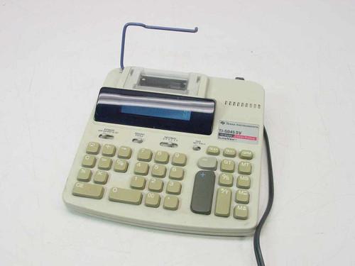 Texas Instruments TI-5045SV  Electronic Printing Calculator