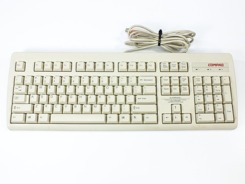 Compaq PS/2 Keyboard Spacesaver  121975-001
