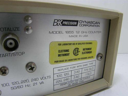 BK Precision 1855  1.2 GHz Counter