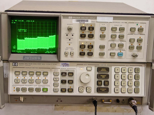 HP/ AGILENT 8566B / 85662A  Spectrum Analyzer 100Hz to 22GHz