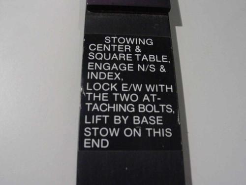 Forox Black  motorized,Large Format Camera Table