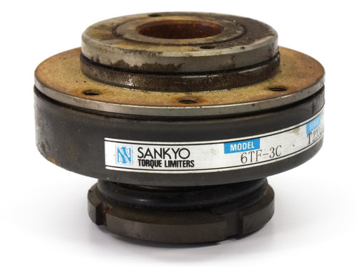Sankyo 6TF-3C Torque Limiter Overload Protector Flange Type 10 - 30Nm