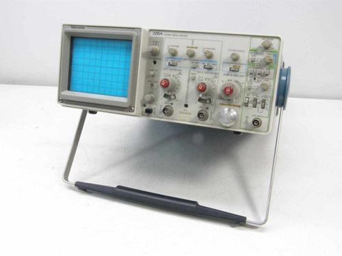 Tektronix 2215A  Dual Trace 60Mhz Oscilloscope - As Is for Parts