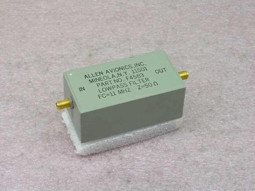 Allen Avionics Inc. F4583  Lowpass Filter