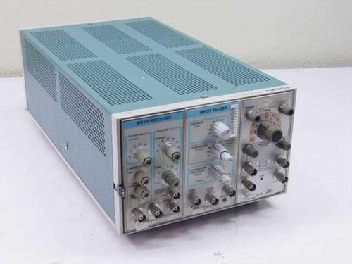 Tektronix TM503  Power supply with three plug in modules