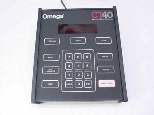 Omega CT40  Darkroom Timer / Controller - Need Repair