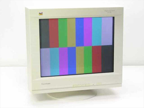 "Viewsonic VCDTS21530-1M  PF790 19"" Color Monitor"