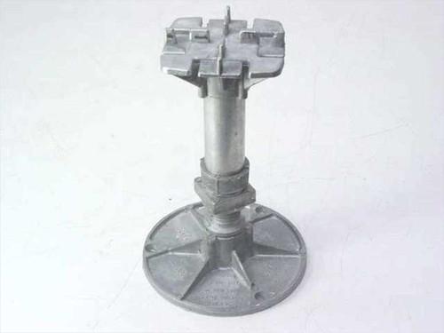 "Flooring  4.5"" Round Base  Adjustable Aluminum Riser Pedestal"