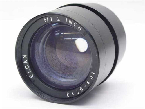 Elcan 109-0713  F/7 2 inch lens - Fair Condition