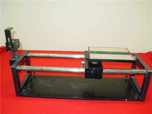 Richter  B  Cine Equipment Optical Test Bench