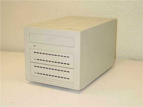 CI Design Drive Caddy  w/ 2 SCSI External Hard Drive Bays Enclosure