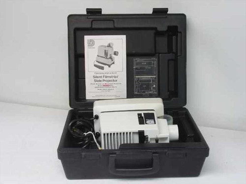 Dukane 28a33 Filmstrip Projector W Case Recycledgoods Com