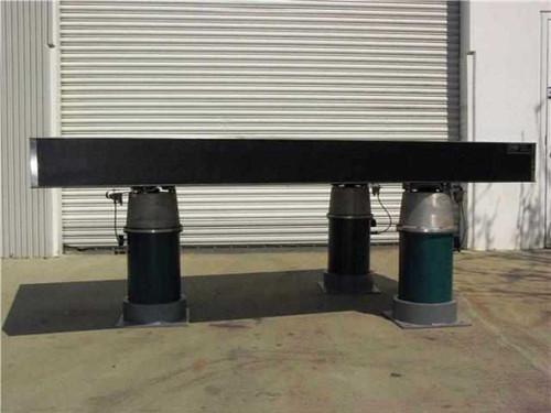 "Newport NRC 8' x 4' x 8""  Vibration Isolation Breadboard Optical Bench Table"