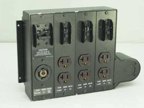 Electrical Outlet  30 Amp 125/250 V Distributor Box Circuit Breakers