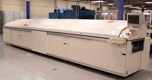 """BTU International 206A  Pyramax Reflow System 14 Zone 350C 24"""" x 206"""" Air"""
