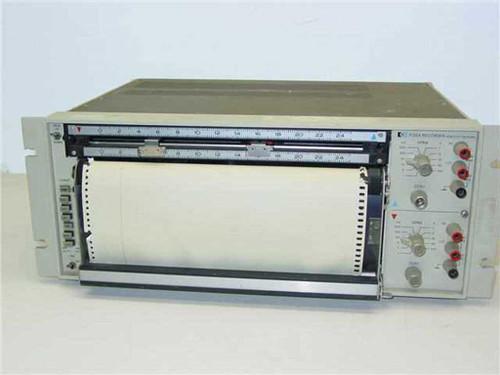 HP / AGILENT 7132A  Dual Pen Chart Recorder