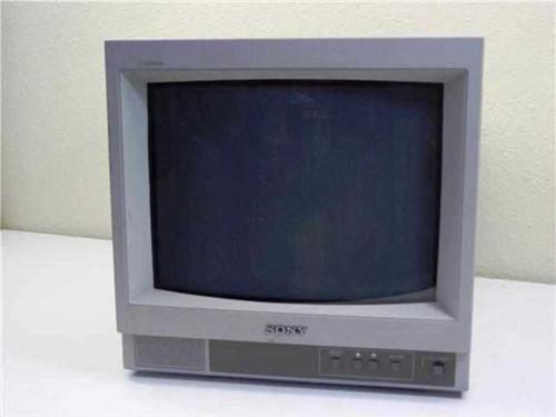 "Sony Trinitron SSM-14n5u  Color Video Monitor 14"""