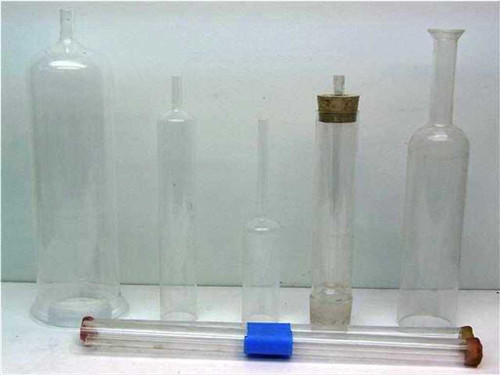 Laboratory Glass Assorted sizes  Frosted, flanged, Unblown , Pyrex