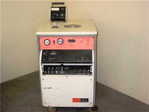 VECCO MS-17 AM  Leak Detector Diffusion/Welch Vacuum Pump