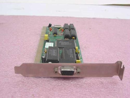 Trident 9016X2/4  ISA Video Card TV-9000C-B08 1991