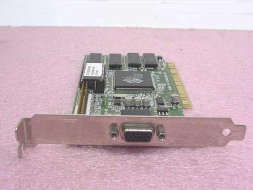 ATI 1024060600  PCI 3D Charger Rage II&DVD Video Card