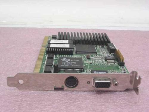 ATI 1021891240  ISA Mach32 Video Card