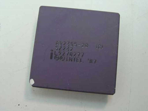 Intel A82385-20 386 CPU Cache Controller SZ232