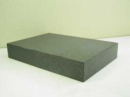 """Granite Grey/Black  18"""" Flat Granite Surface Plate - 18""""x12.5""""x3"""""""