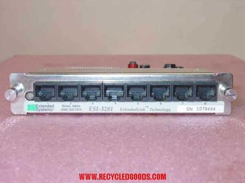 Extended Systems  8-port Sharespool XL ESI-3281